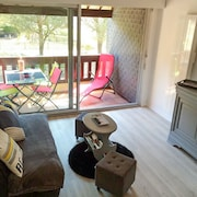 Spacious Apartment by the Beach in Carnac With Heating and Furnished Balcony Near Quiberon