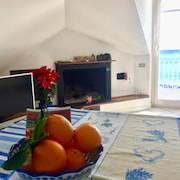 Apartment With one Bedroom in Mascali, With Wonderful sea View, Furnished Terrace and Wifi - 10 m From the Beach