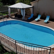 House With one Bedroom in Gargas, With Private Pool, Terrace and Wifi - 86 km From the Beach