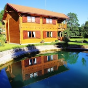 Apartment With 2 Bedrooms in Duga Resa, With Wonderful Lake View, Enclosed Garden and Wifi - 10 m From the Beach