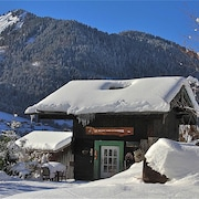 Chalet With one Room in Montriond, With Wonderful Mountain View, Furnished Garden and Wifi - 3 km From the Slopes