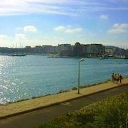 Apartment With one Bedroom in Gruissan, With Wonderful sea View and Wifi - 300 m From the Beach