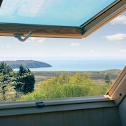Pretty Wooden House on the Crozon Peninsula, Brittany, With Garden and Stunning sea Views - Sleeps 6