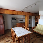 Apartment With 2 Bedrooms in Arvieux, With Wonderful Mountain View, Enclosed Garden and Wifi