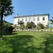 700sqm Gîte in a Castle With 7 Rooms in Caudrot, Near Bordeaux With 5000sqm Park - Sleeps 21