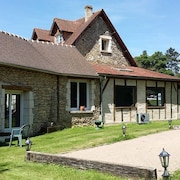 House With 5 Rooms in Fourges Near Giverny, With Indoor Heated Pool, Enclosed Garden and Wifi