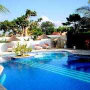 Villa With 3 Rooms in Saly, With Pool Access, Enclosed Garden and Wifi - 300 m From the Beach