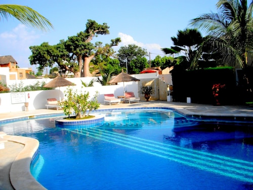 Villa With 3 Bedrooms in Saly, With Pool Access, Enclosed Garden and Wifi - 300 m From the Beach