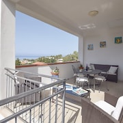 Apartment With 2 Rooms in Sciacca, With Wonderful sea View, Furnished Garden and Wifi - 400 m From the Beach