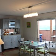 Apartment With 3 Bedrooms in Les Angles, With Wonderful Lake View and Furnished Garden - 1 km From the Slopes