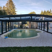 House With one Bedroom in Verdun-en-lauragais, With Pool Access, Furnished Terrace and Wifi - 7 km From the Beach