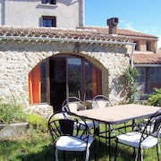 House With 3 Bedrooms in Rennes-le-château, With Furnished Garden and Wifi - 80 km From the Beach
