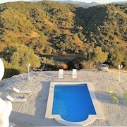 Luxurious 3-bedroom Villa in Algar, Andalusia With Swimming Pool , a Furnished Terrace and 150,000sqm Property!