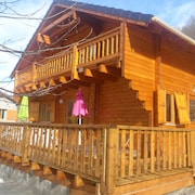 Chalet With 3 Rooms in Ax-les-thermes / Orlu, With Wonderful Mountain View, Furnished Terrace and Wifi - Sleeps 10!