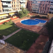 Apartment With 3 Bedrooms in Terrassa, With Wonderful City View, Pool Access and Enclosed Garden