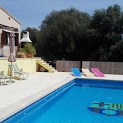 House With 4 Bedrooms in Manacor, With Wonderful Mountain View, Private Pool, Furnished Garden - 9 km From the Beach