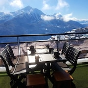 Apartment With 1 Room in Orcières, With Mountain View and Balcony-direct Access to the Slopes
