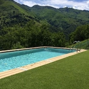 Chalet With one Bedroom in Garzeno, With Wonderful Mountain View, Private Pool, Enclosed Garden - 60 km From the Slopes