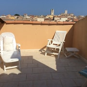 Apartment With 2 Bedrooms in Antibes, With Wonderful City View, Furnished Terrace and Wifi - 600 m From the Beach