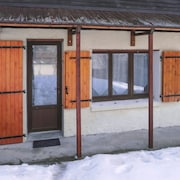 Chalet With one Bedroom in Allos, With Wonderful Mountain View, Furnished Garden and Wifi - 9 km From the Slopes