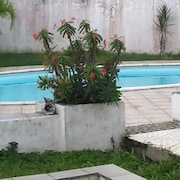 House in Lamentin - Modern, 3-bedroom House With Wifi, Furnished Terrace and Swimming Pool