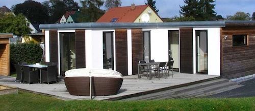 Bungalow With one Bedroom in Ueckermünde, With Enclosed Garden - 800 m From the Beach