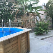 Apartment With one Room in Le Moule, With Private Pool, Enclosed Garden and Wifi - 2 km From the Beach
