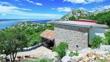 House With one Bedroom in Starigrad, With Wonderful sea View and Furnished Garden - 2 km From the Beach