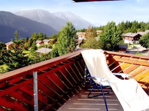 Apartment in Bellwald With Balcony and View of the Swiss Alps