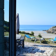House With 5 Bedrooms in Nevez, With Wonderful sea View and Furnished Garden - 50 m From the Beach