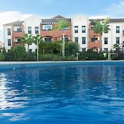 Apartment With one Bedroom in Huelva, With Pool Access and Enclosed Garden - 10 km From the Beach
