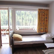 Studio in Grimentz, With Wonderful Mountain View, Terrace and Wifi