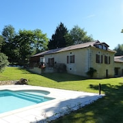 House With 3 Bedrooms in Saint-germain-du-salembre, With Pool Access, Enclosed Garden and Wifi