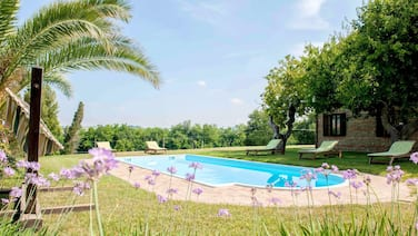 House With 3 Bedrooms in Castelbellino, With Shared Pool and Wifi - 30 km From the Beach