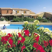 House With 2 Bedrooms in St Pierre la Mer, With Wonderful sea View, Pool Access, Enclosed Garden - 500 m From the Beach
