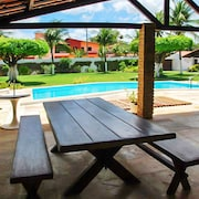 Villa With 4 Bedrooms in Cumbuco, With Wonderful sea View, Private Pool, Furnished Garden