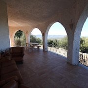 House With 3 Bedrooms in La Tozza, With Wonderful sea View and Enclosed Garden - 3 km From the Beach