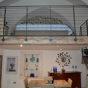 House With one Bedroom in Ostuni, With Wonderful sea View, Furnished Terrace and Wifi - 5 km From the Beach
