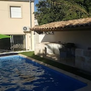 House With 2 Bedrooms in Calvisson, With Private Pool, Enclosed Garden and Wifi - 32 km From the Beach
