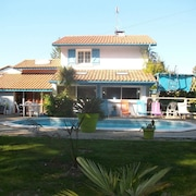 Villa With 3 Bedrooms in Tarnos, With Private Pool, Enclosed Garden and Wifi - 14 km From the Beach