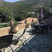 House With 3 Bedrooms in Ersa, With Wonderful Mountain View and Enclosed Garden - 5 km From the Beach