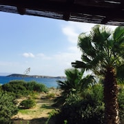 House With 2 Rooms in Drios, With Wonderful sea View, Furnished Garden and Wifi