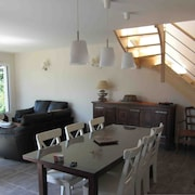 House With 4 Bedrooms in Lancieux, With Wonderful City View, Enclosed Garden and Wifi - 100 m From the Beach