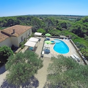 Gorgeous Seaview House in the Nature Reserve of Roque-haute, With Pool and Lush Garden