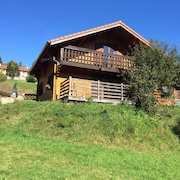 Chalet With 3 Bedrooms in Xonrupt-longemer, With Wonderful Mountain View, Furnished Garden and Wifi