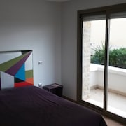 Apartment With 3 Rooms in Sidi Bouknadel, With 6 Pools Access and Huge Terrace