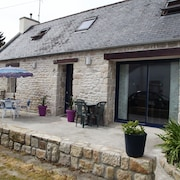 House With 3 Rooms in Plobannalec-lesconil, With Enclosed Garden and Wifi - 2 km From the Beach