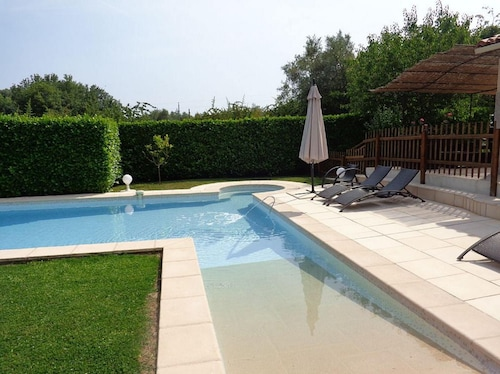 Villa With 4 Bedrooms in La Gaude, With Private Pool, Furnished Terrace and Wifi - 8 km From the Beach