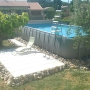 House With 3 Bedrooms in Canet, With Private Pool, Enclosed Garden and Wifi - 29 km From the Beach