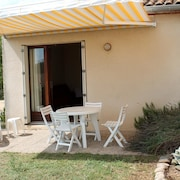 House With one Room in Saint-martin-d'ardèche, With Mountain View, Furnished Garden and Wifi - 200 m From the Beach